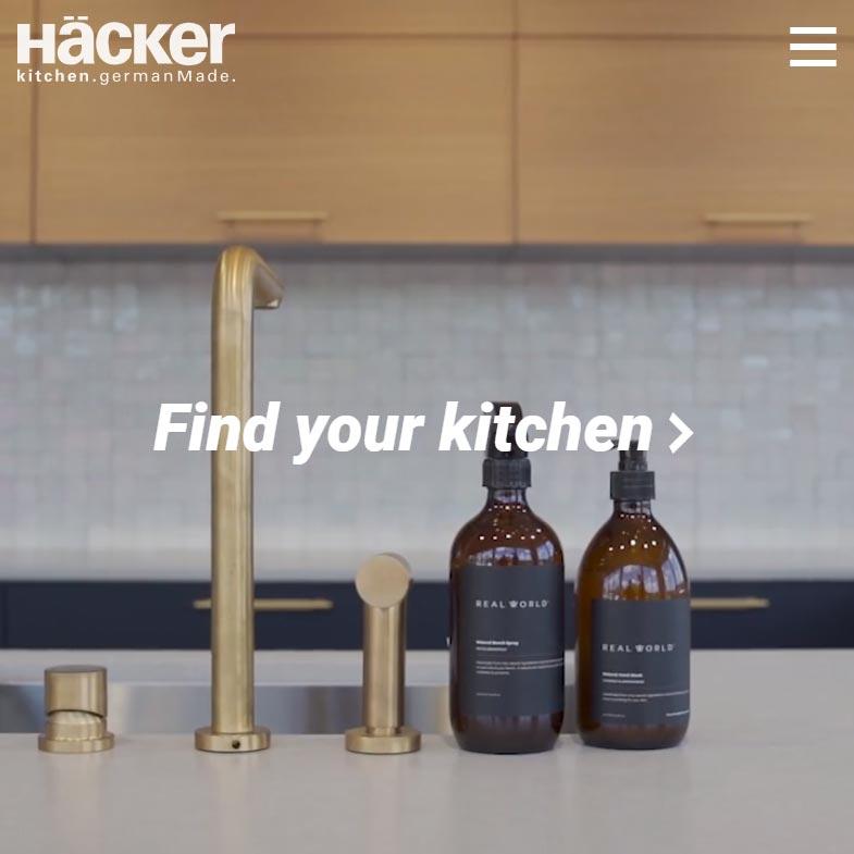 Häcker Kitchens NZ screenshot